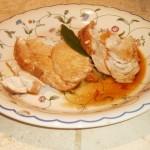 Tagliata di Pollo con Soia, Miele e Limone