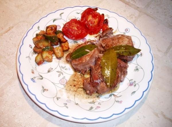Filetto di maiale con pancetta e balsamico