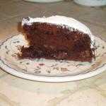 Torta Cioccolato Pere e Nutella