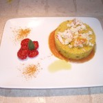 cous cous zucchine curcuma polpa granchio