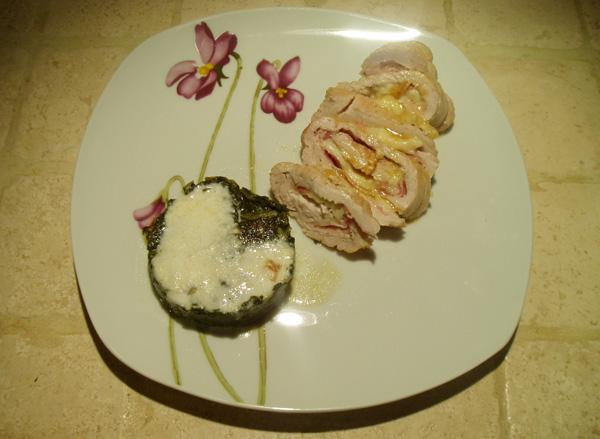 rolle-tacchino-mozzarella-pancetta-biete-crema-parmigiano
