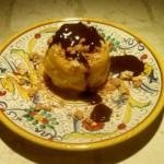 zabaione amaretti fonduta cioccolato