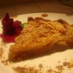 Torta biscottosa alle mele e cannella