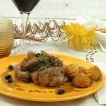 Filettini di Maiale al Lardo con bacche di Mirto, Rosmarino e Miele - A Tavola