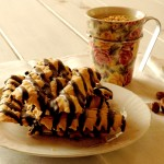La Merenda dei Golosi - Frappe al cioccolato e cioccolato bianco in tazza