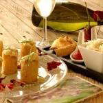 Aperitivo Time - Cannoli croccanti al Mais con Baccalà mantecato