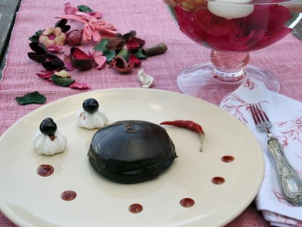 Mini Sacher al Peperoncino e Amarena