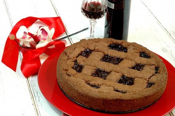 Crostata golosa al doppio Cioccolato, Ciliegie e Visciole 3